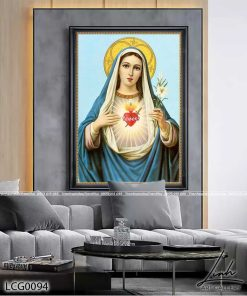tranh duc me maria 11 247x296 - Tranh Đức Mẹ Maria - LCG0094