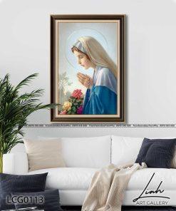 tranh duc me maria 13 247x296 - Tranh Đức Mẹ Maria - LCG0113