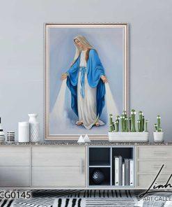 tranh duc me maria 17 247x296 - Tranh Đức Mẹ Maria - LCG0145