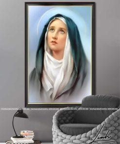 tranh duc me maria 19 247x296 - Tranh Đức Mẹ Maria - LCG0158