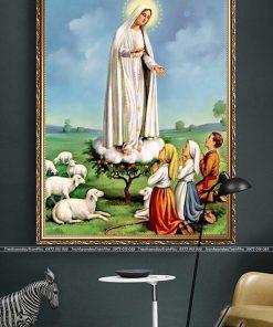 tranh duc me maria 2 247x296 - Tranh Đức Mẹ Maria - LCG0023