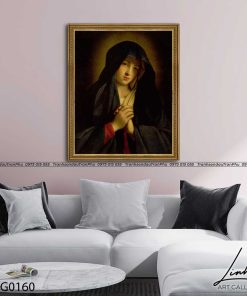 tranh duc me maria 20 247x296 - Tranh Đức Mẹ Maria - LCG0160