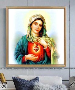 tranh duc me maria 3 247x296 - Tranh Đức Mẹ Maria - LCG0029