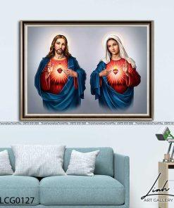 tranh duc me va chua giesu 21 247x296 - Tranh Đức Mẹ Và Chúa Giêsu - LCG0127