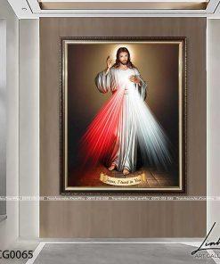tranh long chua thuong xot3 247x296 - Tranh Lòng Chúa Thương Xót - LCG0065