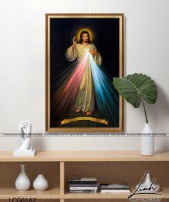 tranh long chua thuong xot8 247x296 - Tranh Lòng Chúa Thương Xót - LCG0162