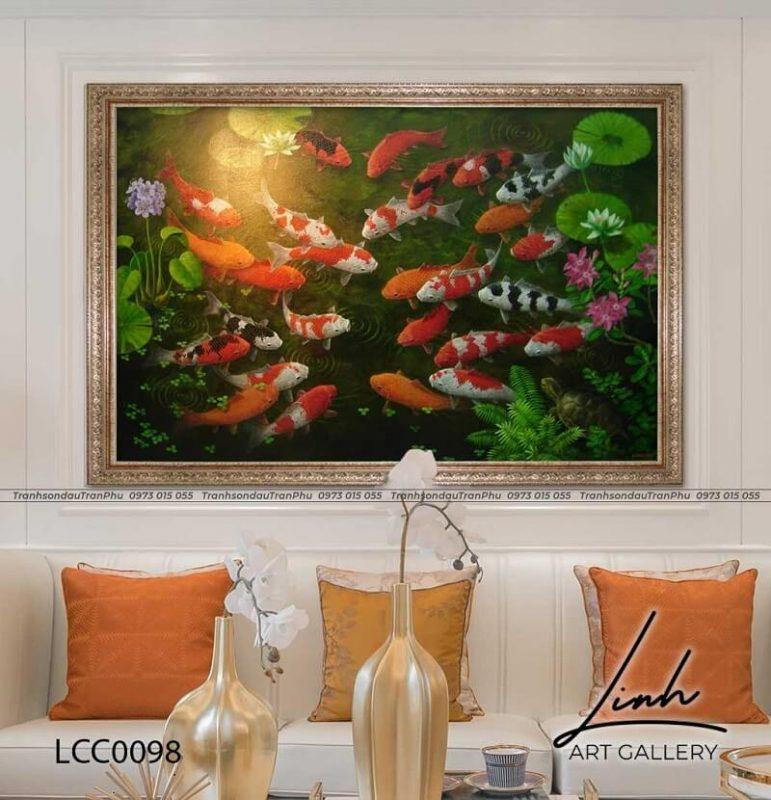 tranh trang tri phong khach 8 771x800 - Tổng hợp các mẫu tranh trang trí phòng khách được yêu thích nhất hiện nay