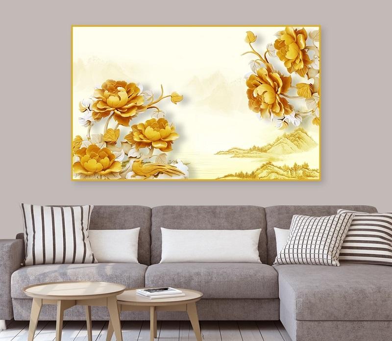 tranh ve hoa sen 7 - Những mẫu tranh vẽ hoa sen đẹp và ấn tượng nhất cho người xem