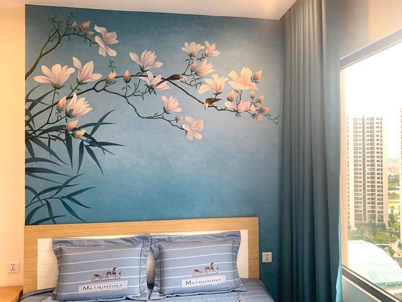 ve tranh tuong 6 - Các mẫu vẽ tranh tường ấn tượng mà đơn giản phù hợp mọi không gian