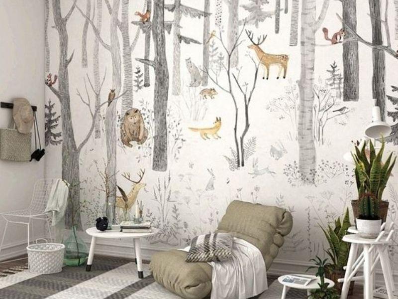ve tranh tuong quan cafe 6 - Các mẫu vẽ tranh tường quán cafe chủ đề hot được yêu thích nhất