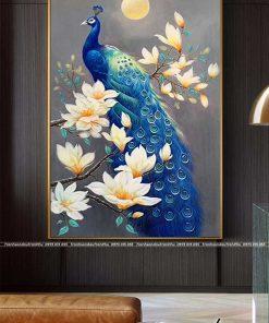 tranh chim cong 114 247x296 - Tranh Chim Công - LCC0141