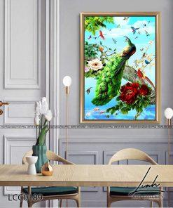 tranh chim cong 146 247x296 - Tranh Chim Công - LCC0189