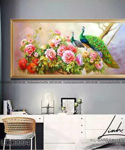 tranh chim cong hoa mau don 12 247x296 - Tranh Chim Công Hoa Mẫu Đơn - LCC0094