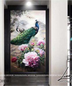 tranh chim cong hoa mau don 16 247x296 - Tranh Chim Công Hoa Mẫu Đơn - LCC0110