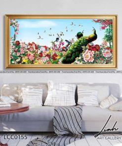 tranh chim cong hoa mau don 29 247x296 - Tranh Chim Công Hoa Mẫu Đơn - LCC0155