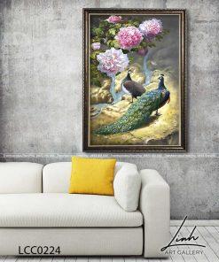 tranh chim cong hoa mau don 43 247x296 - Tranh Chim Công Hoa Mẫu Đơn - LCC0224
