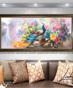 tranh chim cong hoa mau don 65 247x296 - Tranh Chim Công Hoa Mẫu Đơn - LCC0297