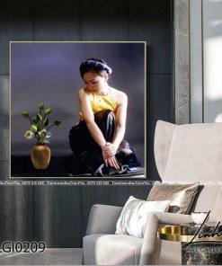 tranh co gai ao yem 55 247x296 - Tranh Cô Gái Áo Yếm - LGI0209