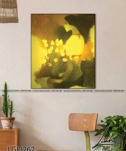 tranh co gai ao yem 67 247x296 - Tranh Cô Gái Áo Yếm - LGI0262