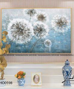 tranh hoa bo cong anh 1 247x296 - Tranh Hoa Bồ Công Anh  - OHO0598