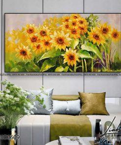 tranh hoa huong duong 1 247x296 - Tranh Hoa Hướng Dương - OHO0609