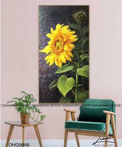tranh hoa huong duong 6 247x296 - Tranh Hoa Hướng Dương - OHO0648