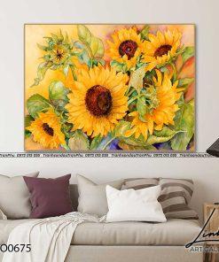 tranh hoa huong duong 7 247x296 - Tranh Hoa Hướng Dương - OHO0675