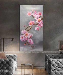 tranh hoa lan 1 247x296 - Tranh Hoa Lan - OHO0634