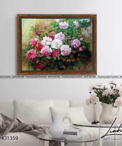 tranh hoa mau don 122 247x296 - Tranh Hoa Mẫu Đơn - OHO1359