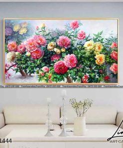 tranh hoa mau don 135 247x296 - Tranh Hoa Mẫu Đơn - OHO1444