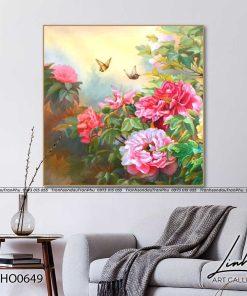 tranh hoa mau don 14 247x296 - Tranh Hoa Mẫu Đơn - OHO0649
