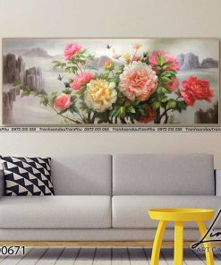 tranh hoa mau don 18 247x296 - Tranh Hoa Mẫu Đơn - OHO0671