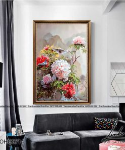 tranh hoa mau don 29 247x296 - Tranh Hoa Mẫu Đơn - OHO0714