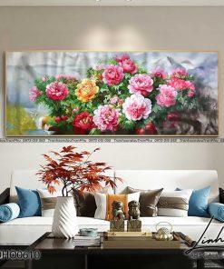 tranh hoa mau don 3 247x296 - Tranh Hoa Mẫu Đơn - OHO0610