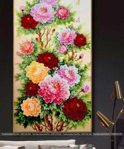 tranh hoa mau don 46 247x296 - Tranh Hoa Mẫu Đơn - OHO0783