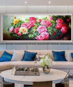 tranh hoa mau don 64 247x296 - Tranh Hoa Mẫu Đơn - OHO0856
