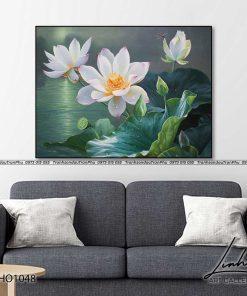 tranh hoa sen 20 247x296 - Tranh Hoa Sen - OHO1048