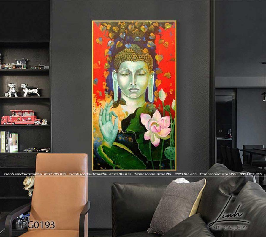 tranh phat 3 896x800 - Tranh Bồ Tát Thiên Thủ Thiên Nhãn - LPG0133