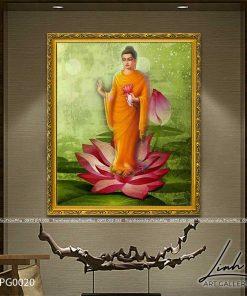 tranh phat a di da 1 247x296 - Tranh Phật A Di Đà - LPG0020