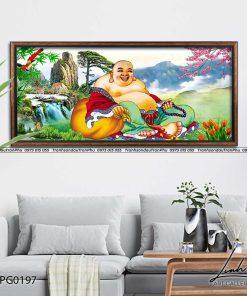 tranh phat di lac 5 247x296 - Tranh Phật Di Lặc - LPG0197