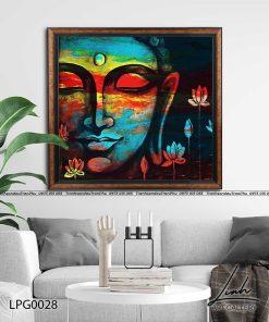 tranh phat nghe thuat 5 247x296 - Tranh Phật Nghệ Thuật - LPG0028