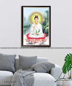 tranh phat quan am 13 247x296 - Tranh Phật Quan Âm - LPG0041