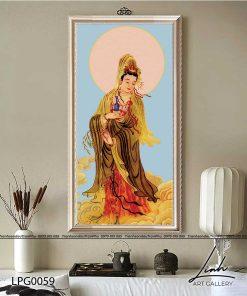 tranh phat quan am 22 247x296 - Tranh Phật Quan Âm - LPG0059