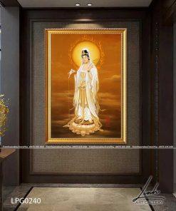 tranh phat quan am 60 247x296 - Tranh Phật Quan Âm - LPG0240