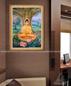 tranh phat thich ca 3 247x296 - Tranh Phật Thích Ca - LPG008