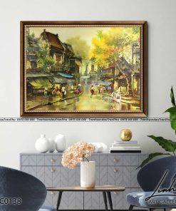 tranh pho co ha noi 115 247x296 - Tranh Phố Cổ Hà Nội - LPC0138
