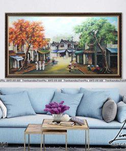 tranh pho co ha noi 40 247x296 - Tranh Phố Cổ Hà Nội - LPC0054