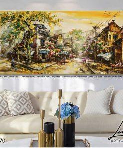 tranh pho co ha noi 51 247x296 - Tranh Phố Cổ Hà Nội - LPC0070