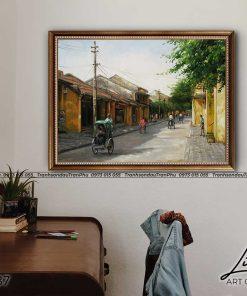 tranh pho co hoi an 5 247x296 - Tranh Phố Cổ Hội An - LPC0137