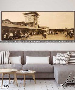 tranh pho co sai gon 18 247x296 - Tranh Phố Cổ Sài Gòn- LPC0149